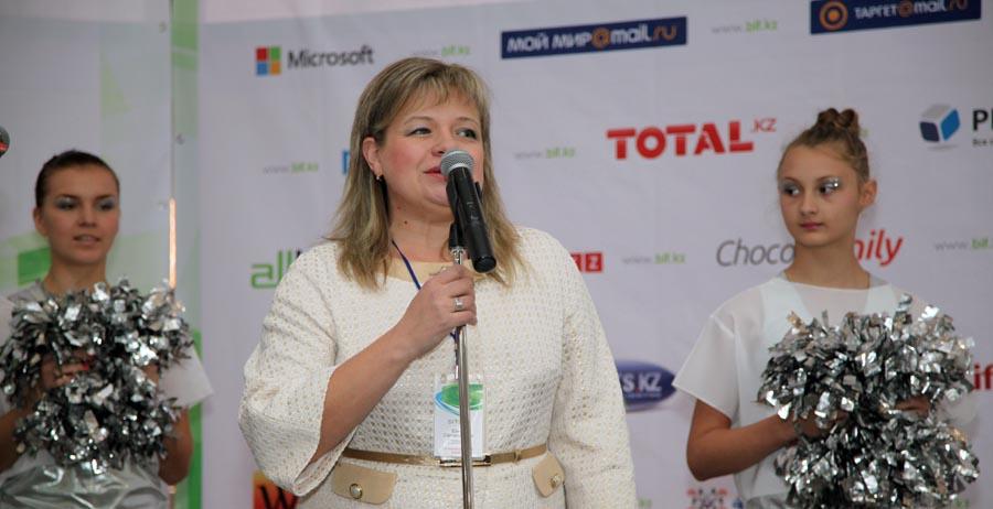 Елена Саргалдакова открывает BIF 2013