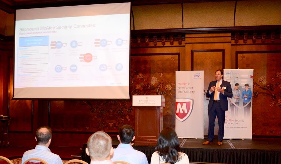 Ян ван Влиет, вице-президент региона развивающихся рынков EMEA Intel Security