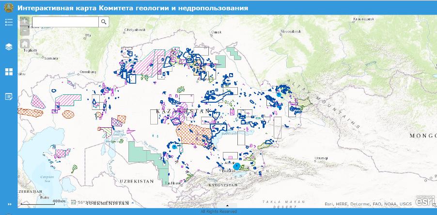 Интерактивная карта сети