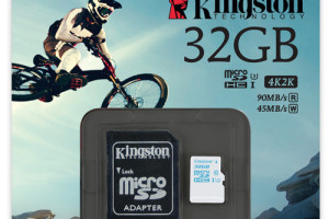 Боец. Kingston Action Camera UHS-I U3