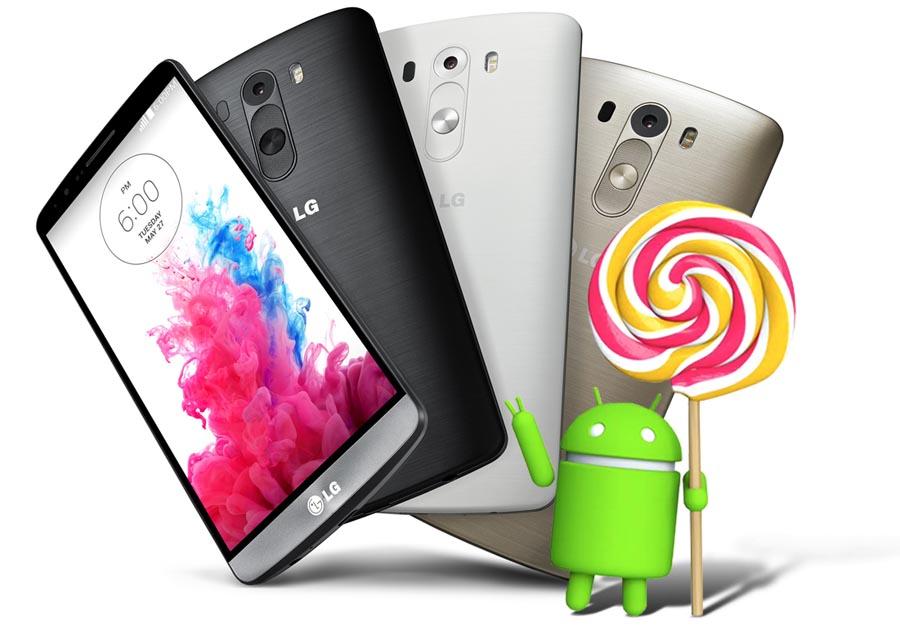 LG получит обновление Android 5.0 Lollipop