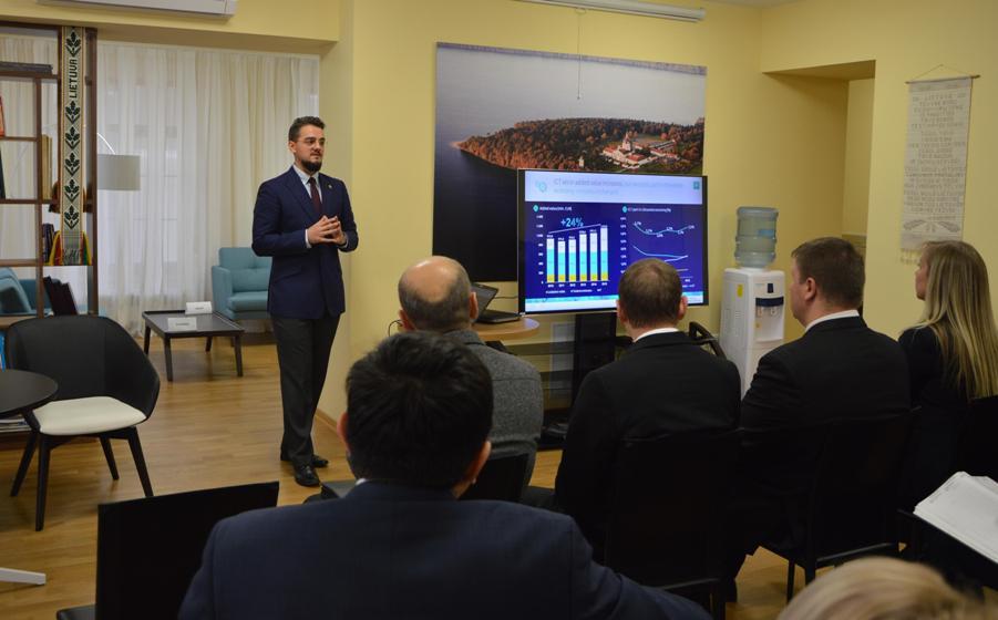 06.12.2016 Литовские ИТ-компании ищут партнеров в Казахстане