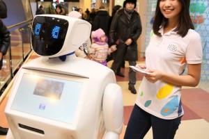 Робот продает билеты наЭКСПО-2017в Астане