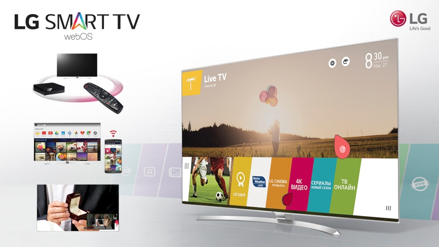 Smart TV webOS 3