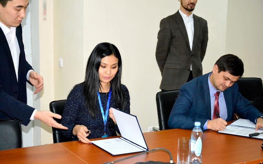 Зерде и Самрук-Казына Бизнес Сервис подписали меморандум о сотрудничестве