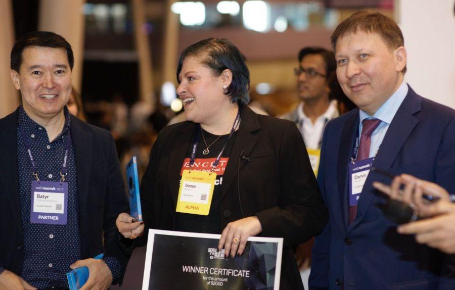 Казахтелеком наградил авторов 5 проектов на WebSummit 2017