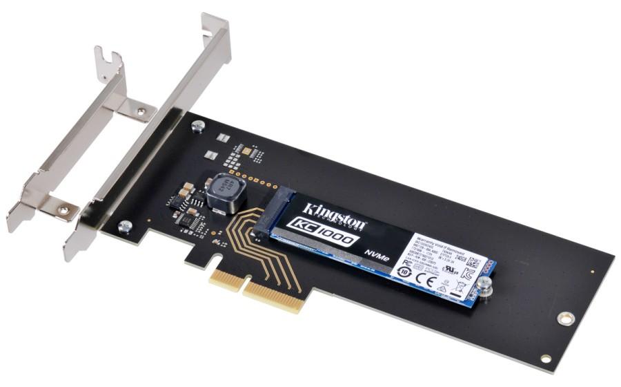 Kingston KC1000 NVMe PCIe