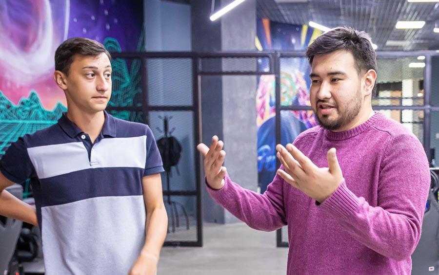 Георгий Петриашвили и Алдияр Искаков