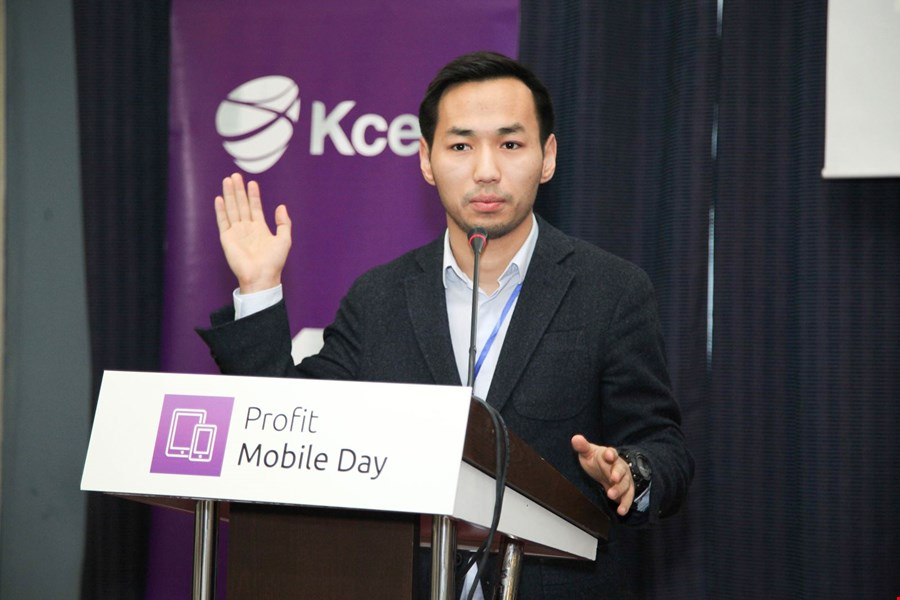 Адилет Гапаров, Microsoft СНГ на Profit Mobile Day 2016