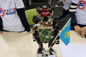 НаAlmaty TechCup-2018 юные разработчики соревновались вробототехнике иинженерных проектах