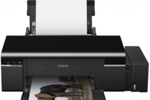 Принтер сзаводской СНПЧ— Epson L800
