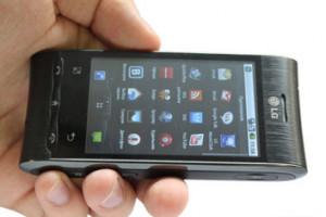 Обзор телефона LGGT540 специалистами портала hi-tech.mail.ru