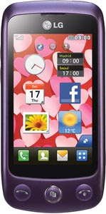 LG GS500 Imperial Purple
