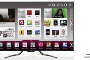 LG продемонстрировала новые модели телевизоров с функцией Google TV на CES 2013