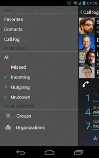 Dialer one — «звонилка» с системой набора T9
