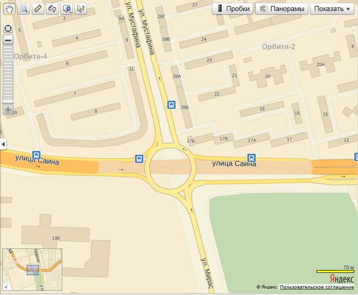 Яндекс обновил карту